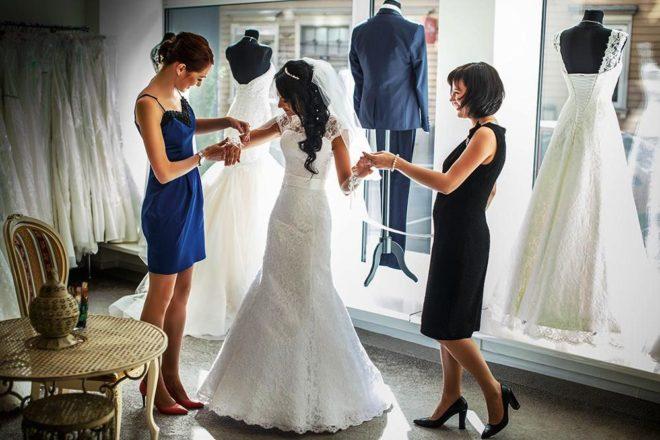 Выбор свадеюного платья